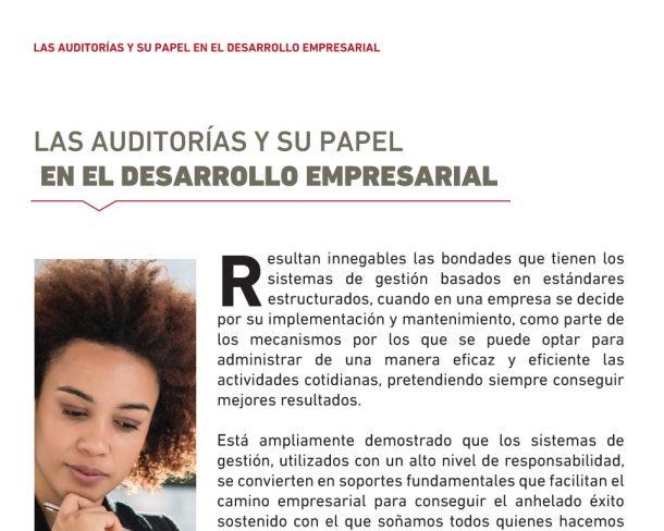 Auditorias su papel desarrollo empresarial